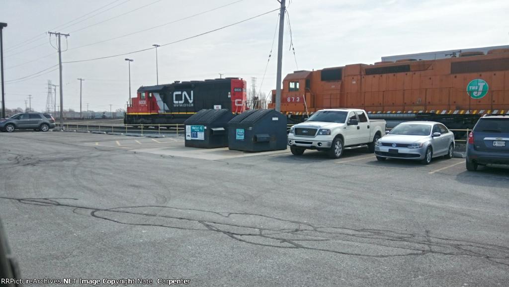 CN 6000/EJ&E 673